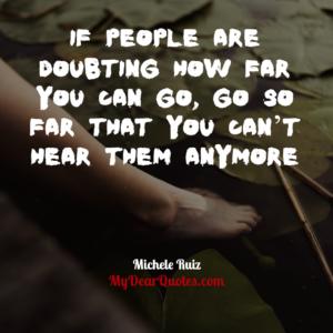 Michele Ruiz sayings