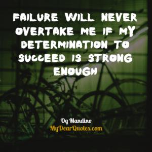 Og Mandino inspirational quotes