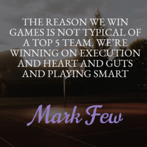 Mark few sayings